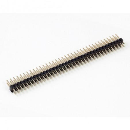 2x40 Pin 2.54mm Male Header