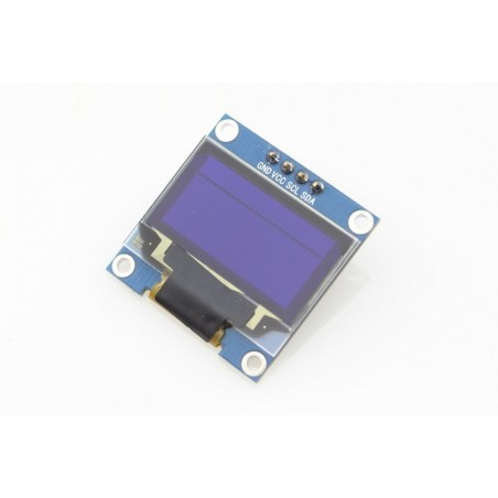 Blue 0.96OLED 128x64 with I2C interface for Arduino