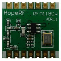 RFM119BW /RFM119CW 315MHz /433MHz /868MHz /915MHz OOK and (G)FSK  transmitter