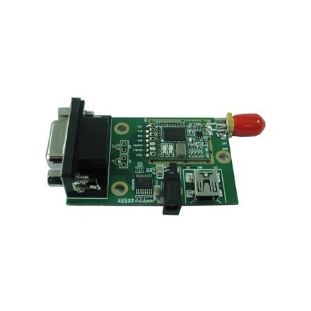$8/pcs HM-TRP-RS232 MOQ100 433MHz /868MHz /915MHz Data link rf module with RS232 user interface