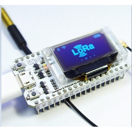 0.96 OLED Display ESP32 WIFI Bluetooth SX1278 433MHz lora IOT Development Board for Arduino