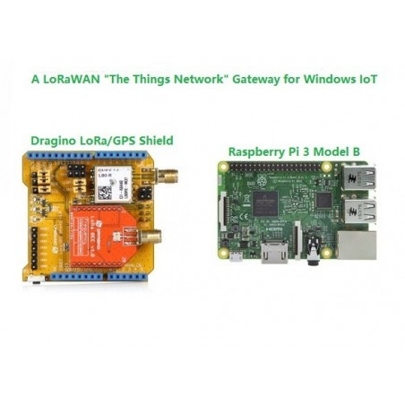 "LoRaWAN ""The Things Network"" Gateway for Windows IoT Core"