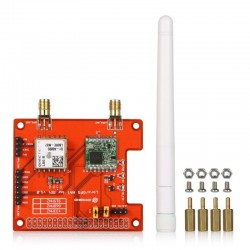 Free Shipping LoRa / GPS Hat Long distance wireless 433MHz/ 868MHz/ 915Mhz Lora and GPS Expansion Board for Raspberry Pi