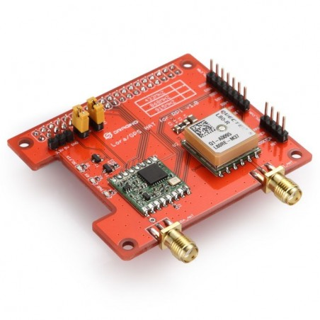 LoRa / GPS Hat Long distance wireless 433 / 868 /915Mhz Lora and GPS Expansion Board for Raspberry Pi