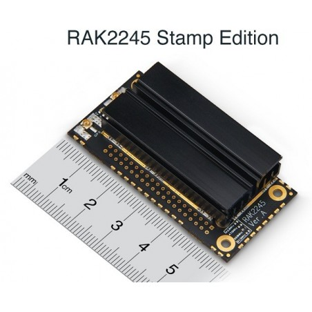 DWM-RAK2245 SX1301 8 Channels LoRaWAN gateway with GPS module