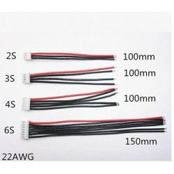 2S 3S 4S 5S 6S 7S 8S 22AWG wire balancing charge plug 2.54XH