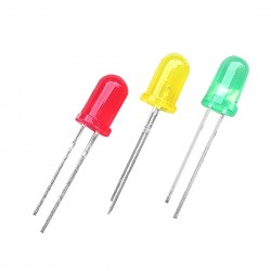 3mm Red Green Yellow Color LED Light Emitting Diodes