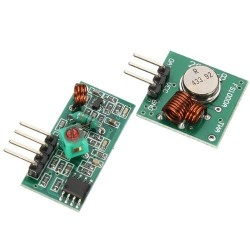 DWM-FS1000A ASK 433MHz transmitter and receiver kit