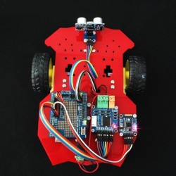 DWM-2WD Arduino UNO based Smart Car Kit