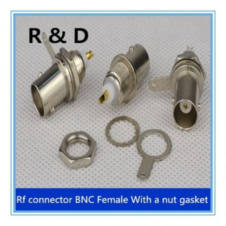 DWM-BNC BNC Male /Female RF coaxial connector for 50-3 (5 mm) coaxial cable
