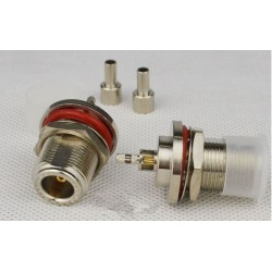 DWM-N-K-1.5 feeder Female 50ohm RF coaxial connector