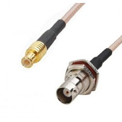 DWM-BNC-MCX BNC Female to MCX Male 50ohm RG316 extension jumper cable