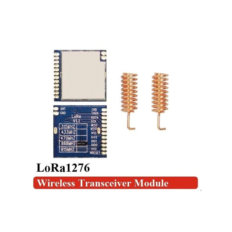 DWM-LoRa1276 868MHz SX1276 Chip 4km~6km Long Distance Wireless Transceiver Module