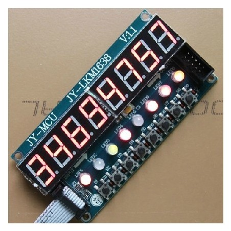 JY-LKM1638 8x digital tube LED module