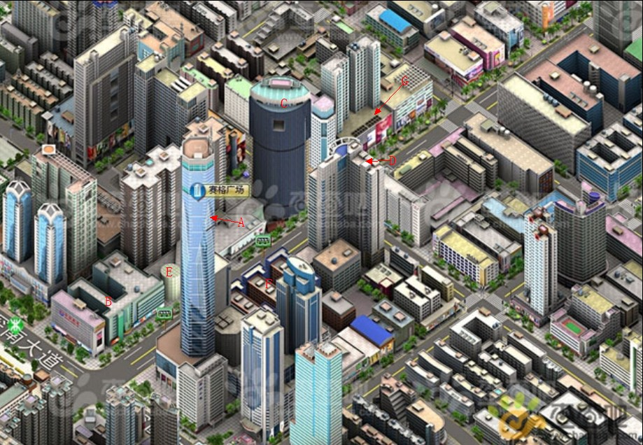 3D Overveiw for huaqiangbei