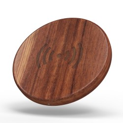 DWM-V-CEN Wooden Fast wireless charger