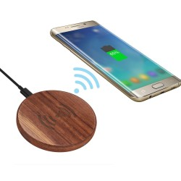 DWM-V-CEN Wooden Fast wireless charger