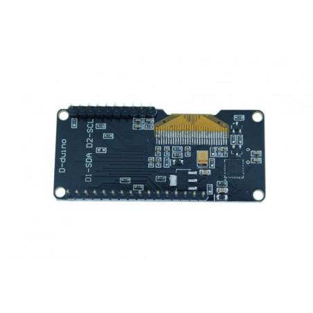 D-duino ESP8266 IOT WiFi NodeMCU Board with 0.96OLED