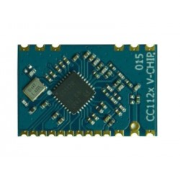 DWM-VT-CC1120 433MHz /868MHz /915MHz TI CC1120 Narrow-Band wireless Transceiver module
