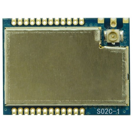 DWM-S02C-CC1310 433MHz /868MHz /915MHz TI CC1310 SOC Ultra-Low Power Long Range wireless Transceiver module