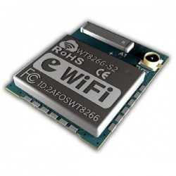 WT8266-S2 ESP8266 Wi-Fi network control module With Ceramic antenna and IPEX connector