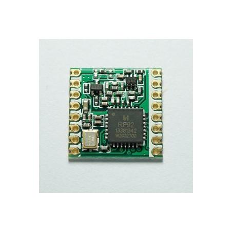 $4.5/pcs RFM92W / RFM95W MOQ100/pcs 868MHz /915MHz LoRa transceiver RF module