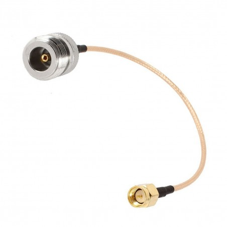 DWM-SMA Male to  N Type Female Jack with RG316 extension jumper cable