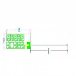 LoRa Antenna-433MHz High Gain internal aerial piamater  FPC Antenna