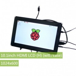 Raspberry Pi 3 10.1inch HDMI LCD (H) (with case) 1024x600 Capacitive Touch Screen