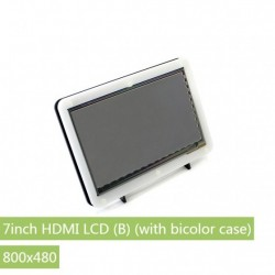 Raspberry Pi 7inch HDMI LCD(B)+ Bicolor case 800×480 Capacitive Touch Screen