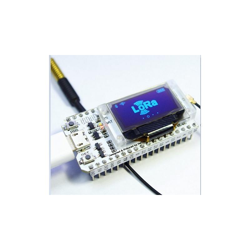 0 96 OLED Display ESP32 WIFI Bluetooth SX1278 433MHz lora IOT Development  Board for Arduino