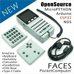 M5Stack ESP32 Open Source Pocket Computer with Keyboard/Gameboy/Calculator for Micropython Arduino