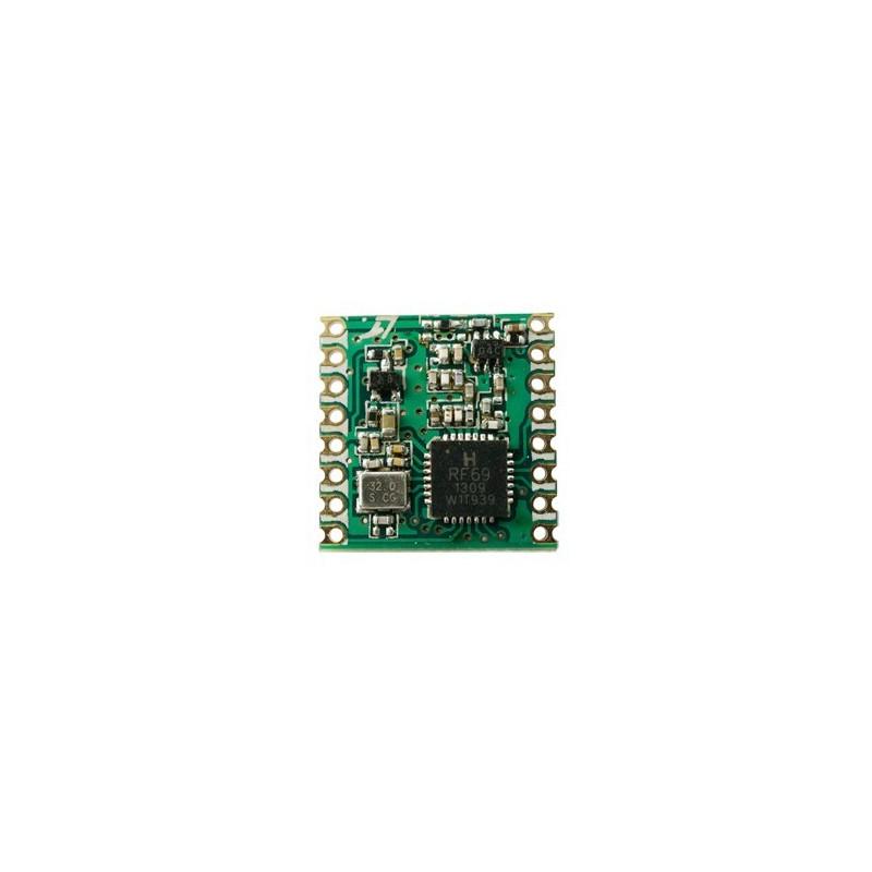 $2 45/pcs RFM69CW / RFM69HCW MOQ100pcs SX1231H 433MHz /868MHz /915MHz  transceiver rf module