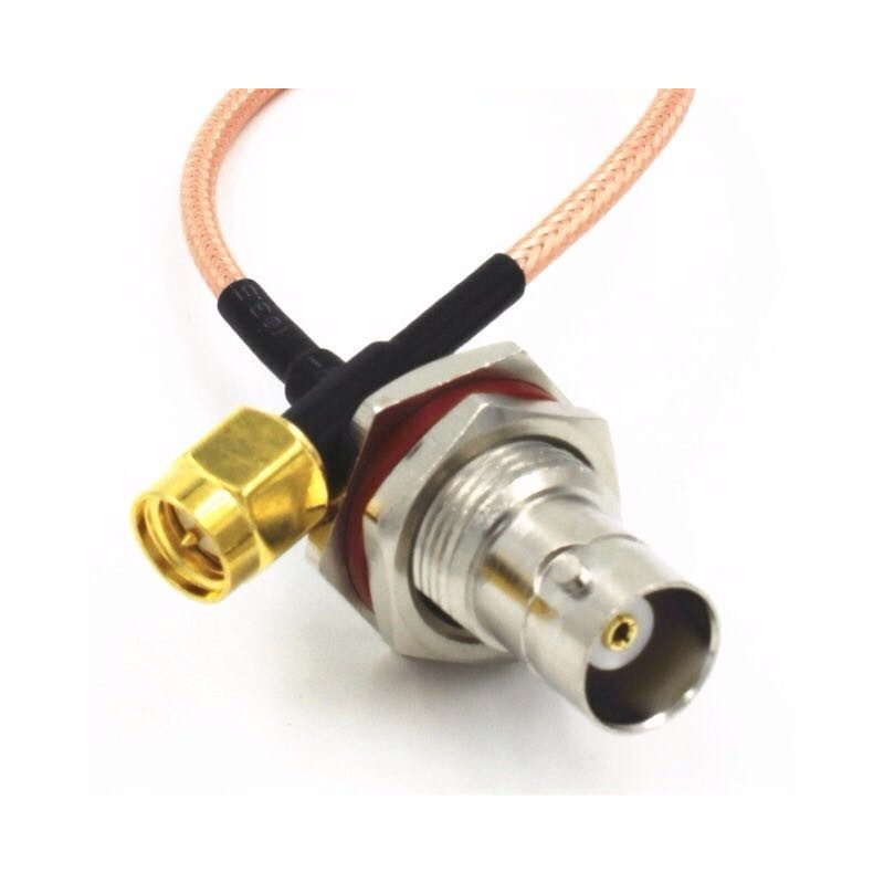 DWM-SMA Male to BNC Female 50ohm RG316 extension jumper cable