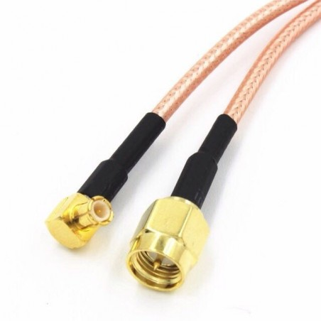 DWM-SMA Male to MCX right male 50ohm RF coaxial RG316 extension jumper cable