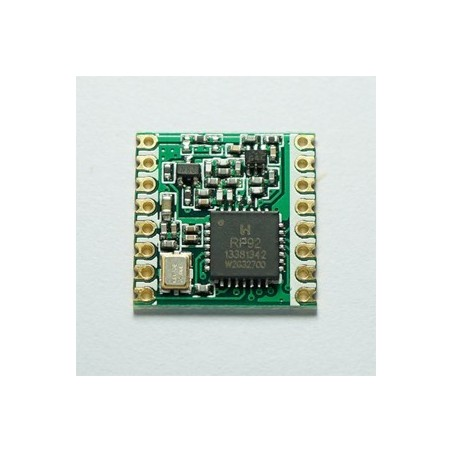 $4.0/pcs RFM92W / RFM95W MOQ500/pcs 868MHz /915MHz LoRa transceiver RF module
