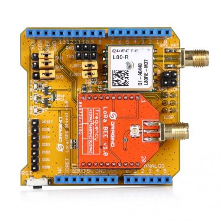 USD30/pcs MOQ100pcs The Lora /GPS Arduino Shield with 433MHz /868MHz /915MHz Versions