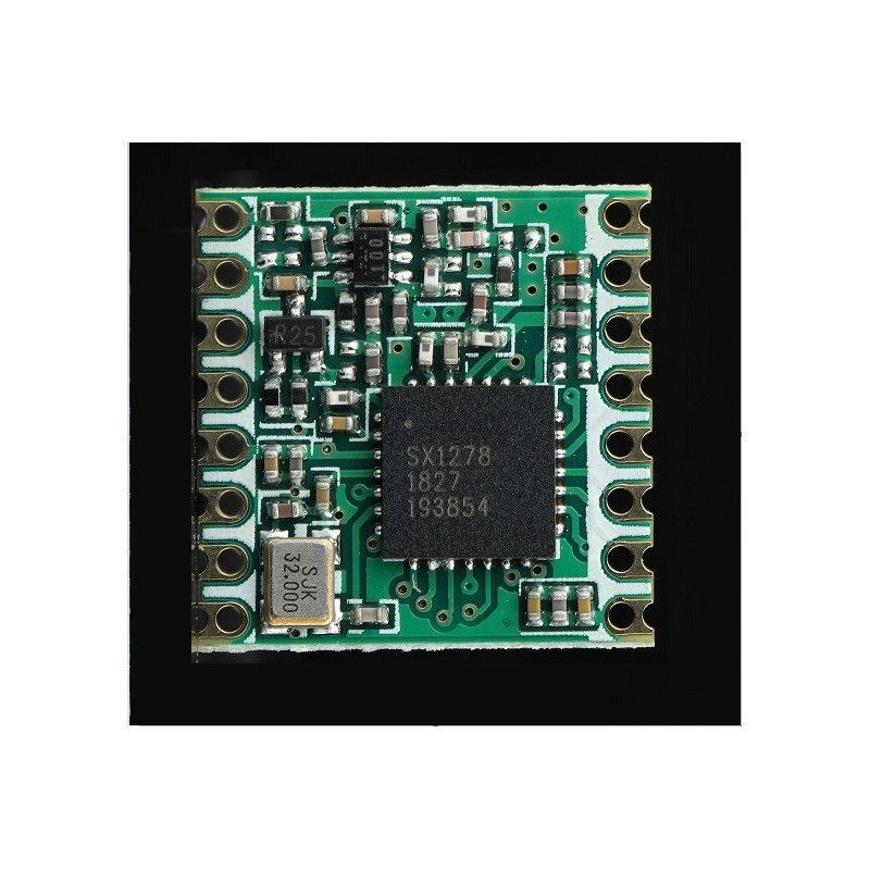 DWM-1278S 433MHz /470MHz 868MHz /915MHz sx1278 LoRa transceiver RF module compatible with RFM98W