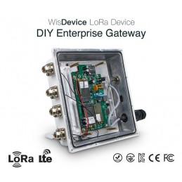 DWM-RAK7249 16 channels OpenWRT OS DIY Enterprise LoRa Gateway with LoRa /4G /WIFI /GPS