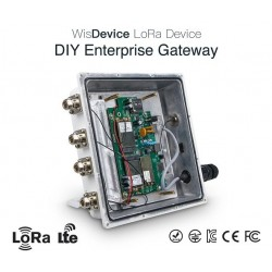 DWM-RAK7249 16 channels OpenWRT OS DIY Enterprise LoRa Gateway with LoRa/4G/WIFI/GPS