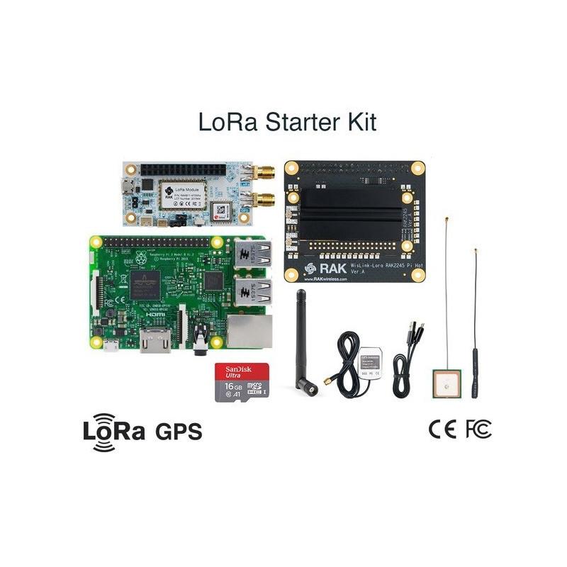 DWM-RAK2245 Pi HAT Raspberry Pi 3B Lora Tracker start kit