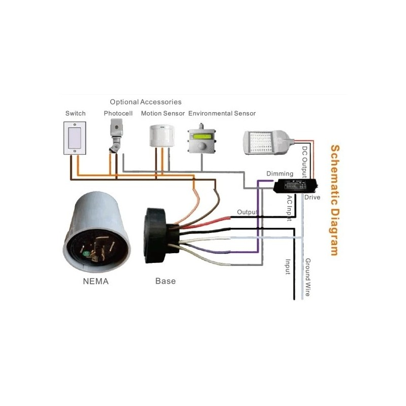 alliance outdoor lighting wiring diagram sz10 lora nema lora outdoor photo control street light controller  sz10 lora nema lora outdoor photo