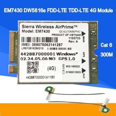 EM7430 DW5816E FDD-LTE FDD-LTE  4G Module for DELL Laptop