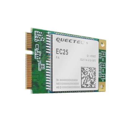 EC25 Mini PCIe IOT LoRa Gateway 4G Cellular Module used in LG308 and LPS8