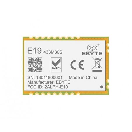 E19-M30S 433MHz /868MHz /915MHz SPI +30dBm Enhanced Power LoRa Transceiver Module