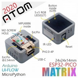 M5Stack ATOM Matrix ESP32...