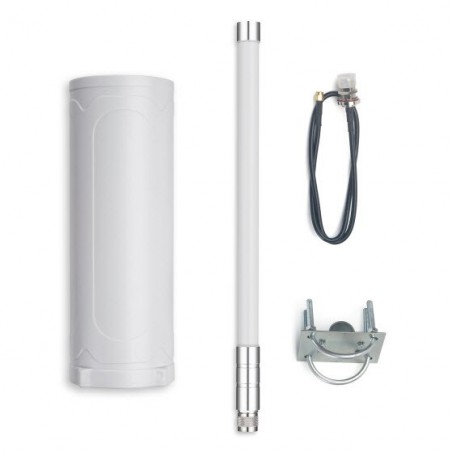 DLOS8 Outdoor LoRaWAN Gateway  includes 1pcs SX1301 and 2pcs SX1257 LoRa Tranceiver