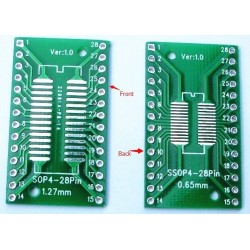 SSOP28 /TSSOP28 Patch board