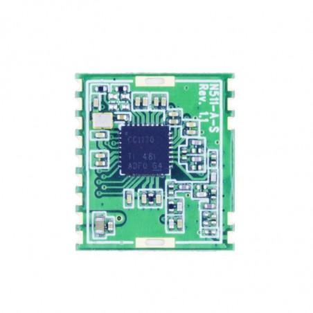 DWM-N511 TI CC1120 170MHz /433MHz /868MHz /915MHz Narrowband Transceiver rf module