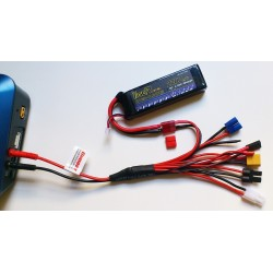 Multi function charger adaptor